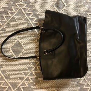 Just Fab PU Leather Tote Purse Bag